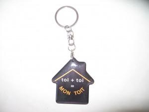 Porte-clés à 3 euros Symbole du projet