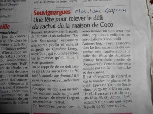 Article du journal (7-12-2014) 003