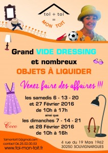 Vide dressing Coco